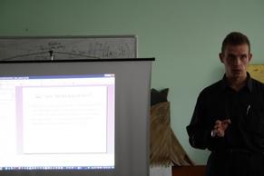 Тренинг для будущих журналистов в Острожской академии