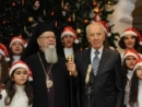 Israel's President Peres wishes Christians all over the world a Merry Christmas