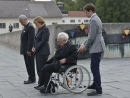 German Chancellor Merkel makes historic visit to Dachau