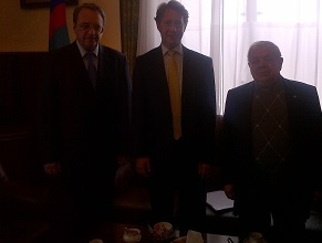 EAJC Representatives Meet with Deputy Foreign Minister of Russia