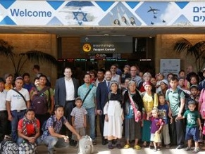 New group of India's Lost Tribe of Bnei Menashe brought to Israel