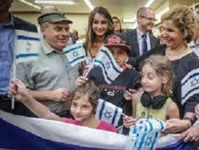 2014 was a year of record-breaking aliyah