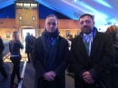 EAJC delegation at the ceremony in honor of the 70th anniversary of the liberation of Auschwitz