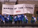 Thousands walk from Auschwitz to Birkenau in March of the Living