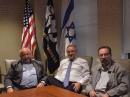 Head of Kazakhstan Jewish community working meetings in New York