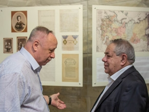 The visit of the EAJC Secretary General in the Imperial Orthodox Palestine Society