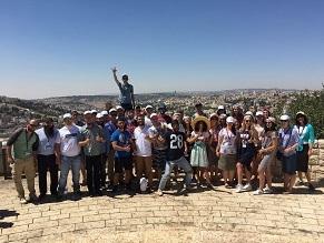 Odessa Students Explore Israel