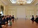EAJC President Julius Meinl took part in the meeting with Azeri President Ilham Aliyev