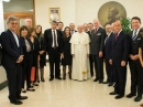 EAJC President took part in the meeting with the Pope