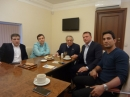 EAJC Secretary General met with Knesset member Yoel Razvozov