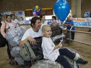 250 new olim from Ukraine arrive in Israel, new Jewish community center inaugurated in Kiev