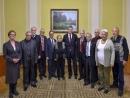 EAJC GC Chairman Josef Zissels meets with Ukrainian President as part of Helsinki Group
