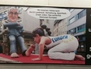 Sexual antisemitic poster attacks Netanyahu in Swiss train stations