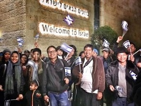 More than 100 Bnei Menashe Jews from India are making aliyah