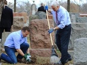 Second Jewish cemetery vandalised in the US in one week