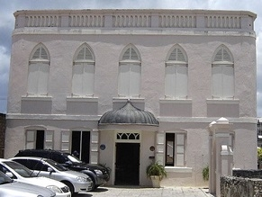 Historic Barbados synagogue hit with antisemitic messages