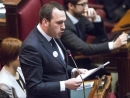 Controversial member of the Italian parliament speaks of 'Zionist influence in Italian media'