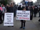 March in London protests Israel's existence despite calls to Mayor Khan to ban it