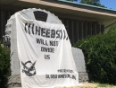 Vandals deface New Jersey Holocaust memorial