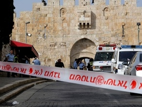 Netanyahu phones Abbas after PA President condemns terror attack in Jerusalem that killed two policemen