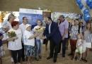 Фонд дружбы привез в Израиль «юбилейную» репатриантку