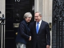 Netanyahu meets British PM May in London, says he is 'committed to peace' 'Palestinians should accept a Jewish na