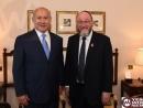 Netanyahu ends his visit in London by meeting Jewish community leaders