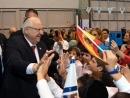 President Rivlin meets Spain's Jewish leaders in Madrid