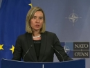 Mogherini: 'Iran's ballistic missile programme and its policies in the region have to be tackled outside the Iran nuclear d