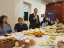 Israeli Minister Azulai in Brussels: 'All political parties are committed to the peace process'