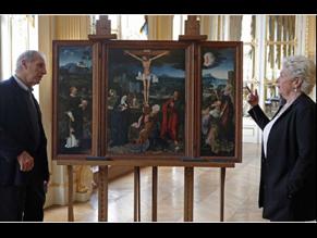Франция вернула наследникам еврейской семьи триптих фламандского живописца