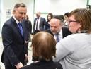 Президент Польши посетил еврейский культурный центр