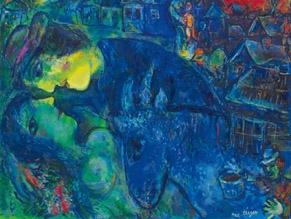 За два дня на Christie's продано шесть работ Шагала
