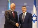 В Кнессете состоялась встреча Юлия Эдельштейна с главой ВР Украины  Андреем Парубием
