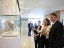 В Кнессете открылась выставка «Сокровища музеев Израиля»