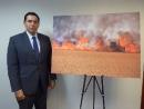 В штабе ООН открылась выставка фотографий, рассказывающая об ущербе от «огненного террора»