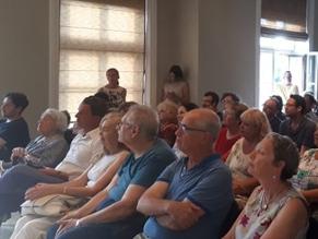 Концерт песен на идиш состоялся в Еврейской общины (литваков) Литвы