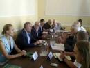 Состоялась встреча Роберта Зингера и Иосифа Зисельса с главой Черновицкой областной администрации