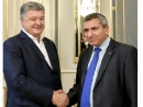 Петр Порошенко встретился с Зеевом Элькиным