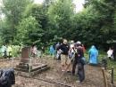 «Гремучая смесь»: международный волонтерский лагерь на Дрогобиччине