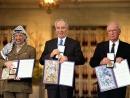 В «Гранд Отеле» в Осло, где чествуют Нобелевских лауреатов, установили золотой семисвечник