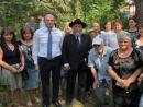 В Боярке открыли мемориал евреям – жертвам деникинцев