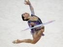 Израильская гимнастка Линой Ашрам завоевала серебряную медаль на чемпионате мира в Софии