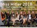 В российской социальной сети проходит конкурс красоты «Мисс Гитлер»