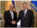 Новый посол Израиля в Украине Йоэль Лион вручил верительные грамоты Президенту Петру Порошенко