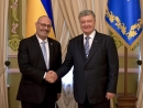 Ukrainian president receives credentials from Israeli ambassador of four countries