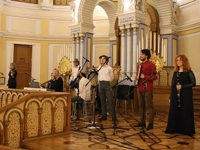 Petersburg Synagogue Hosts Music Festival