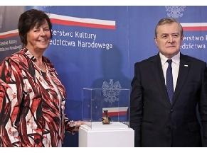 Немка вернула Польше украденный нацистами раритет IV века до н. э.