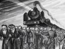 В Аушвице проходит выставка картин еврейского художника – бывшего узника лагеря