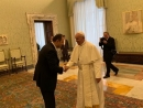 Pope Francis: ' A Christian cannot be an anti-Semite'